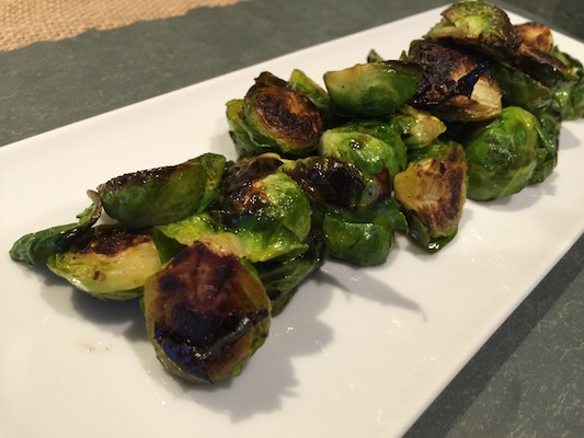 Pan Roasted Brussel Sprouts for the Unbelievers