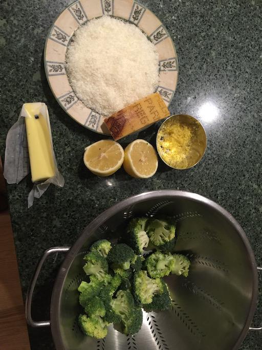 PastaLemonBrocMise